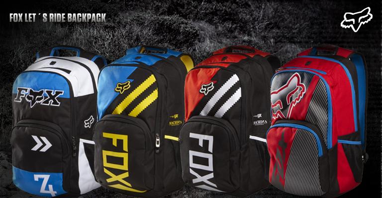 Nově přepracovaný batoh Let´s Ride backpack se dočkal znatelného  designového vylepšení. Grafické motivy objevující se v MX sérii fe706932b2