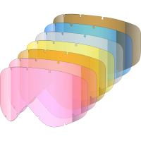 Náhradní skla Shred Tastic 7 Lenses Kit Rose/Orange/Yellow/Clear/Blue/Brown OS