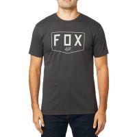 Pánské triko Fox Shield Ss  Premium Tee Black Vintage