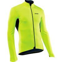 Pánská cyklo bunda Northwave Ghost H2O Jacket Total Protection Ss Yellowfluo L