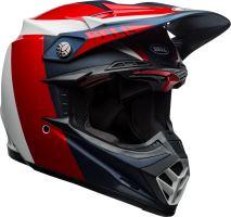 Motocyklová přilba Bell Bell Moto-9 Flex Division Helmet M/G White/Blue/Red