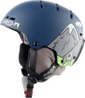 Zimní helma Shred Bumper Ns Needmoresnow Blue M
