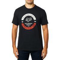 Pánské triko Fox Fox United Ss Tee Black