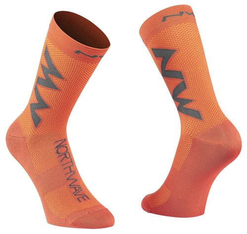 Cyklo ponožky Northwave Extreme Air Sock Siena Orange