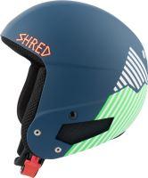 Zimní helma Shred Mega Brain Bucket RH Needmoresnow Navy Blue/Green