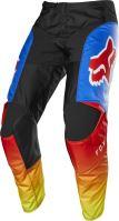 Pánské kalhoty Fox 180 Fyce Pant Blue/Red