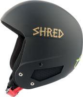 Zimní helma Shred Mega Brain Bucket RH Lg - Lara Gut Signature Black/Gold