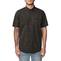 Pánská košile Globe Neon Dreams SS Shirt Washed Black