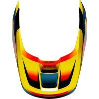 Náhradní kšilt Fox V1 Mx19 V1 Helmet Visor - Motif Yellow