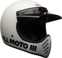 Motocyklová přilba Bell Bell Moto-3 Classic Helmet White M