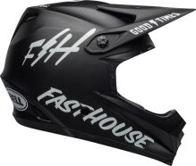 Bell Moto-9 YOUTH Mips Fasthouse Helmet Matte Black/White S/M