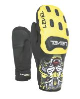 Dětské rukavice Level Race JR Mitt Yellow 6 Jr L