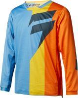 Dětský MX dres Shift Youth Whit3 Tarmac Jersey Orange/Blue