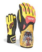 Dětské rukavice Level SQ JR CF Red 6 Jr L