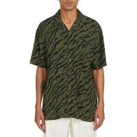 Pánská košile Volcom Embertone S/S Army Green Combo