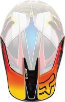 Náhradní kšilt Fox V3 Mx18 V3 Helmet Visor-Kustm Mul