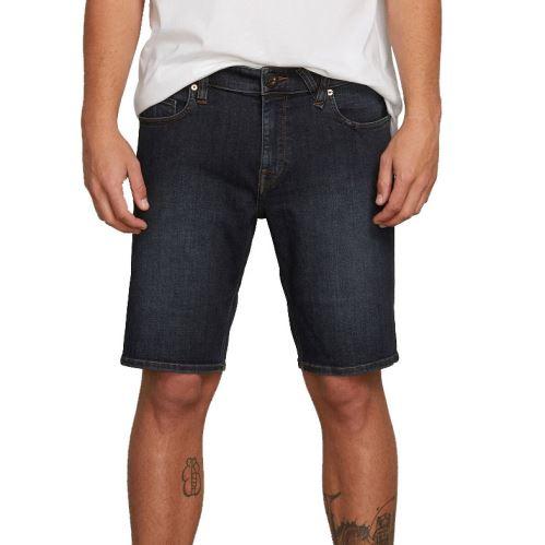 Pánské šortky Volcom Solver Denim Short Vintage Blue