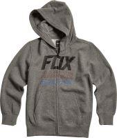 Dětská mikina Fox Youth Overdrive Zip Fleece Heather Graphite