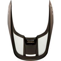 Náhradní kšilt Fox V1 Mx19 V1 Helmet Visor - Mata Cardinal