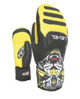 Dětské rukavice Level SQ JR CF Mitt Yellow 6 Jr L