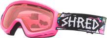 Dětské zimní goggle Shred Mini Fracture Pink OS
