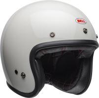 Motocyklová přilba Bell Bell Custom 500 Solid Helmet Vintage White XS