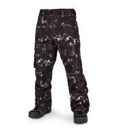 Pánské kalhoty Volcom Ventral Pant Black Print M