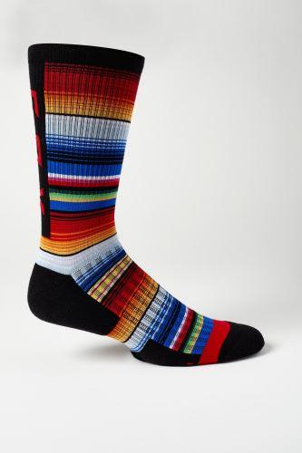 "Cyklo ponožky Fox 8"" Ranger Cushion Sock Navy/Orange"