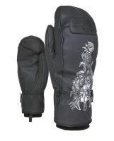 Pánské rukavice Level Joker Mitt Black-White L