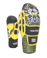 Dětské rukavice Level Worldcup JR CF Mitt Yellow 6 Jr L