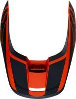 Náhradní kšilt Fox V1 Mx19 V1 Helmet Visor - Przm Orange