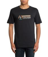Pánské triko Volcom Descent Bsc Ss Black