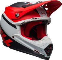 Motocyklová přilba Bell Bell Moto-9 Mips Prophecy Helmet Mt White/Red/Black