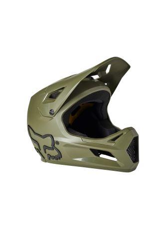 Dětská přilba Fox Yth Rampage Helmet, Ce Olive Green
