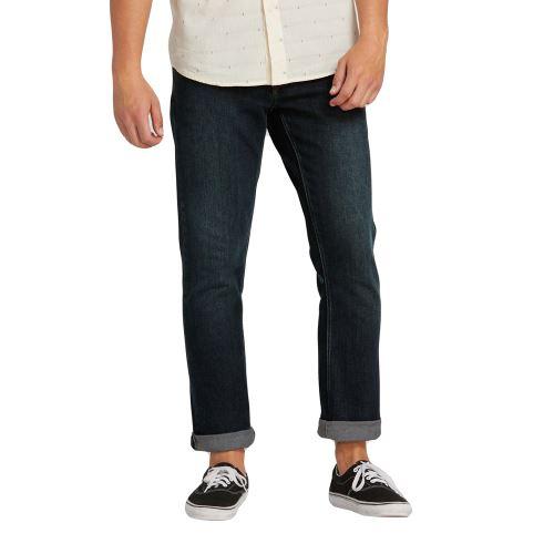 Pánské kalhoty Volcom Vorta Denim Vintage Blue