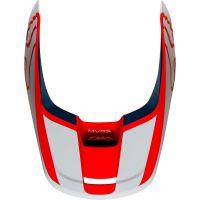 Náhradní kšilt Fox V1 Mx19 V1 Helmet Visor - Przm Navy/Red