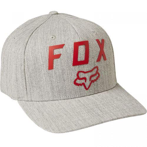 Pánská kšiltovka Fox Number 2 Flexfit 2.0 Hat Heather Grey