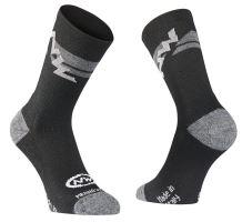 Pánské ponožky Northwave Extreme Winter High Socks Black/Grey