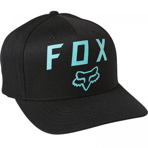 Pánská kšiltovka Fox Number 2 Flexfit 2.0 Hat Black