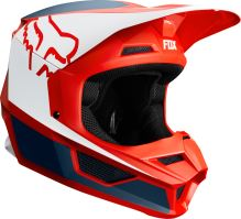 Pánská MX helma Fox V1 Przm Helmet Navy/Red