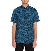 Pánská košile Volcom Sun Medallion S/S Black