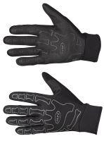 Pánské rukavice Northwave Skeleton W-Gel Long Gloves Reflective