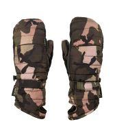Dámské rukavice Volcom Peep Gore-TexR Mitt Faded Army