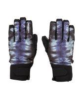 Pánské rukavice Volcom Nyle Glove Black Print