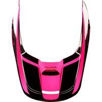 Náhradní kšilt Fox V1 Mx19 V1 Helmet Visor - Przm Black/Pink