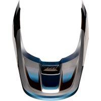 Náhradní kšilt Fox V1 Mx19 V1 Helmet Visor - Motif Blue/Grey