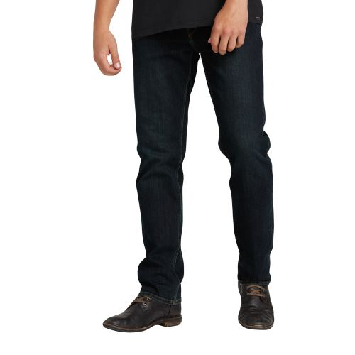 Pánské kalhoty Volcom Solver Denim Vintage Blue