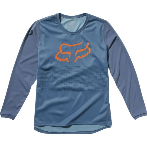 Dětský dres Fox Yth Ranger Ls Jersey Blue Steel YM