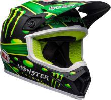 Motocyklová přilba Bell Bell MX-9 Mips Showtime Helmet Mt Black/Green