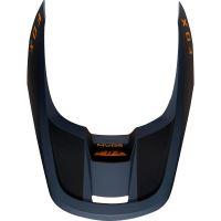 Náhradní kšilt Fox V1 Mx19 V1 Helmet Visor - Mata Navy/Yellow